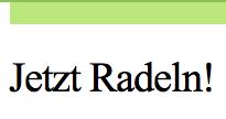 Jetzt Radeln Logo